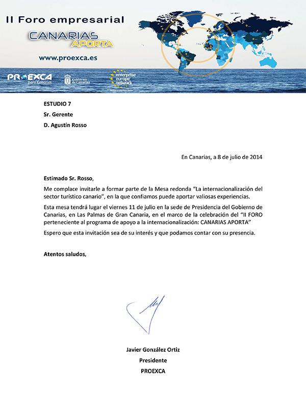 II FORO CANAIRAS APORTA ESTUDIO 7 _1_